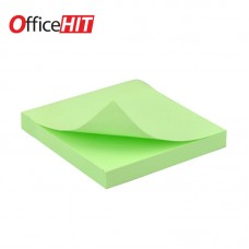 Кубче СЗЛ 75х75мм зелен пастел