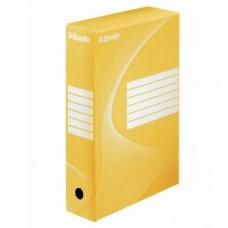 Архивна кутия 80 мм Esselte жълта