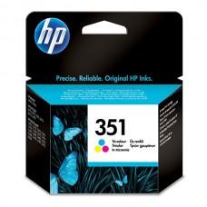 Глава цветна HP no. 351 CB337E Оригинален консуматив, стандартен капацитет 170 стр.