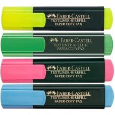 Комплект текстмаркери FABER-CASTELL 4 цвята 1548