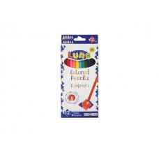 Цветни моливи LUNA, 12 цвята