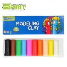 Моделин SPIRIT 10 цвята мек