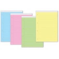 Блокнот с перфорация А4 жълт офсет  40 листа линиран