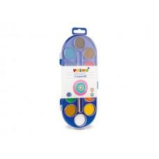 Бои акварелни PRIMO, 12 цвята Ф30
