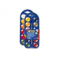 Бои акварелни PRIMO, 24 цвята