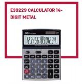 Калкулатор DELI 39229 метал 14 разряден