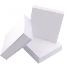 Бяло кубче 85х85 мм 250 л офсет