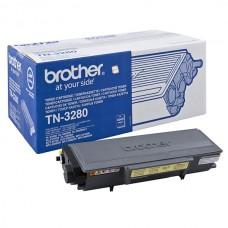Тонер касета черна Brother TN-3280 Съвместим консуматив, голям капацитет 8 000 стр.