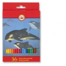 Цветни моливи KOH-I-NOOR, 32 цвята