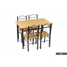 Комплект маса с четири стола CARMEN 20009