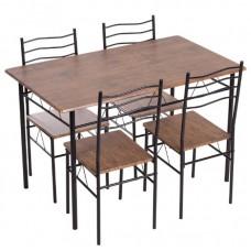 Комплект маса с четири стола CARMEN 20015