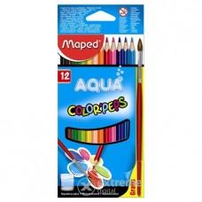Акварелни моливи MAPED COLOR PEPS 12 цвята