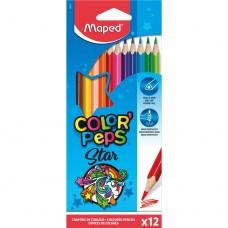 Цветни моливи MAPED COLOR PEPS 12 цвята