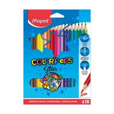Цветни моливи MAPED COLOR PEPS 18 цвята