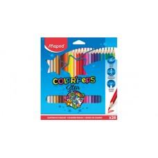 Цветни моливи MAPED COLOR PEPS 24 цвята