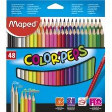 Цветни моливи MAPED COLOR PEPS 48 цвята