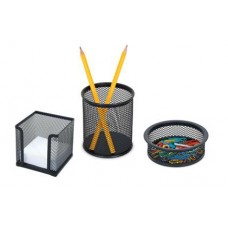 Комплект от три части мрежа черен