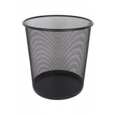 Метално кошче 11.5 литра мрежа черно