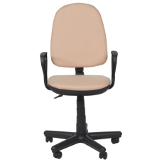 Офис стол КОМФОРТ B - бежов