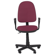 Офис стол КОМФОРТ B - бордо