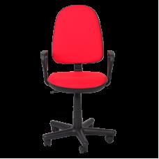 Офис стол КОМФОРТ B - червен