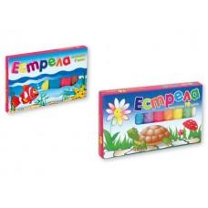 Пластилин ЕСТРЕЛА 6 цвята картонена кутия