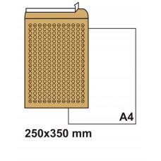 Плик с въздушни мехурчета 250х350 кафяв №7