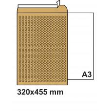 Плик с въздушни мехурчета 320х455 кафяв №9