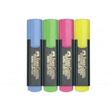 Текстмаркер Faber-Castell Textliner 48 комплект 4 цвята