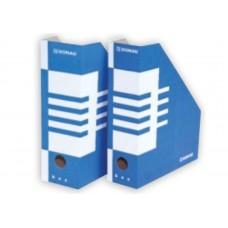 Вертикална поставка Donau 8 см картон син